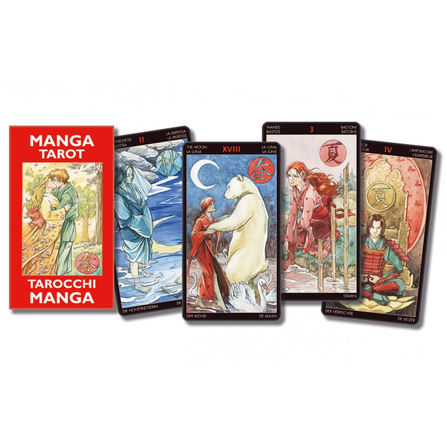 Manga Tarot - Pocket Edition 1