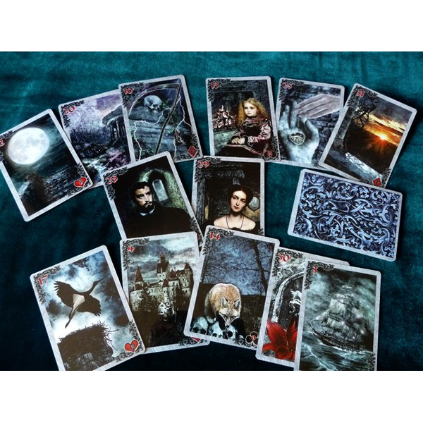 Mysteries of the Old Castle Gothic Lenormand 8
