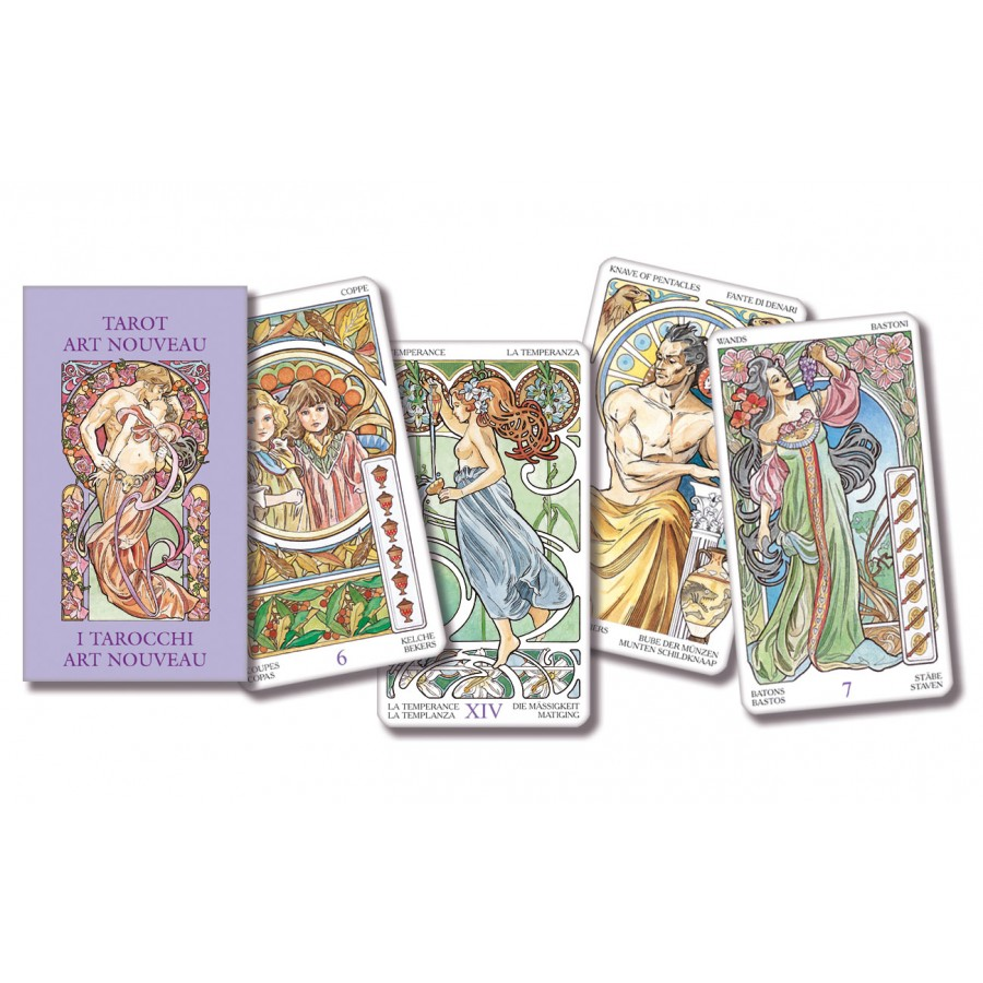 Tarot Art Nouveau - Pocket Edition 1
