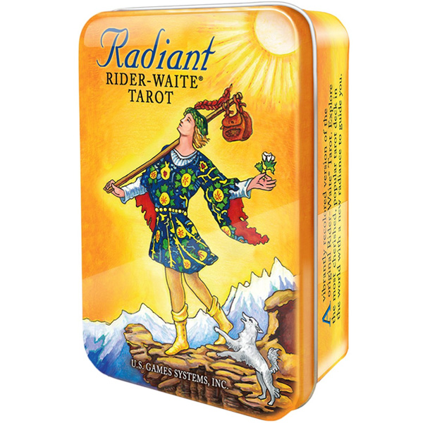Radiant-Rider-Waite-Tarot-in-a-Tin