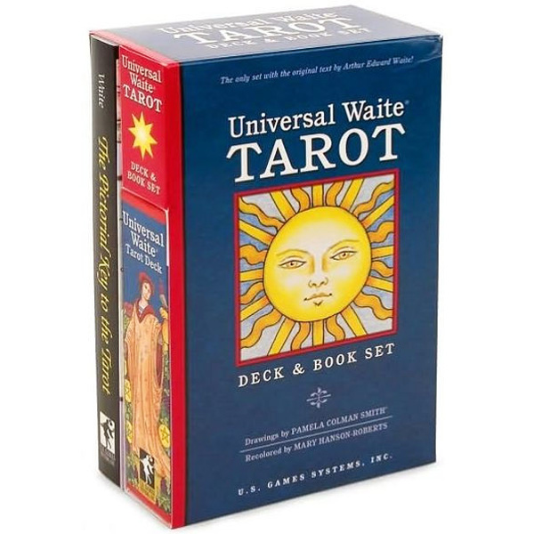 Universal-Waite-Tarot-Bookset-Edition