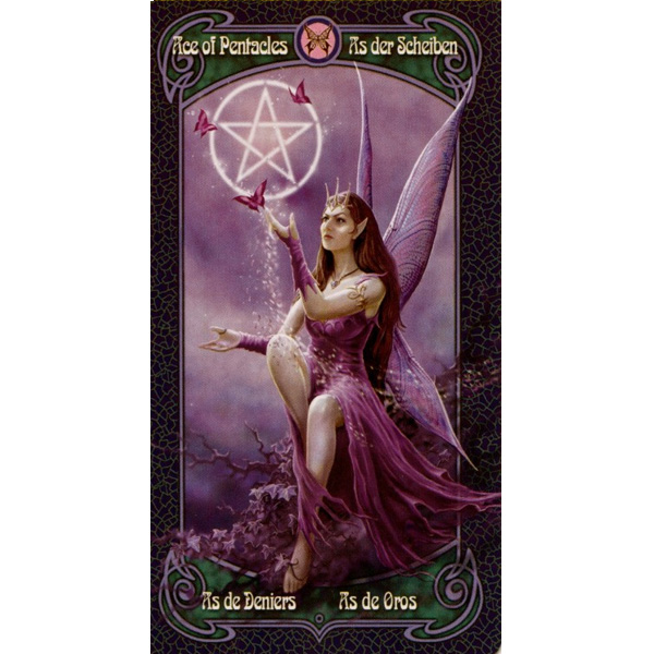 Anne Stokes Legends Tarot 12