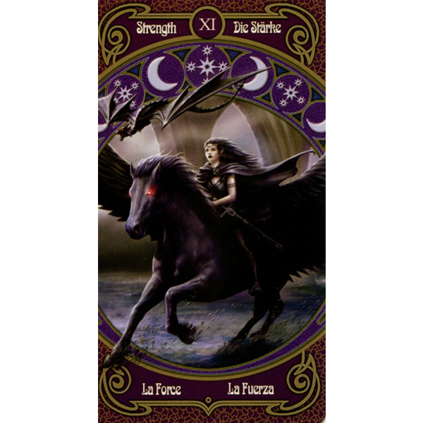 Anne Stokes Legends Tarot 8