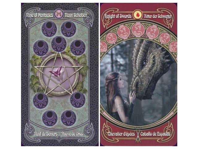Sách hướng dẫn giải nghĩa bộ bài Anne Stokes Legends Tarot