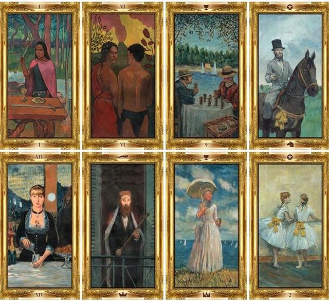 Cảm nhận bộ bài Impressionist Tarot