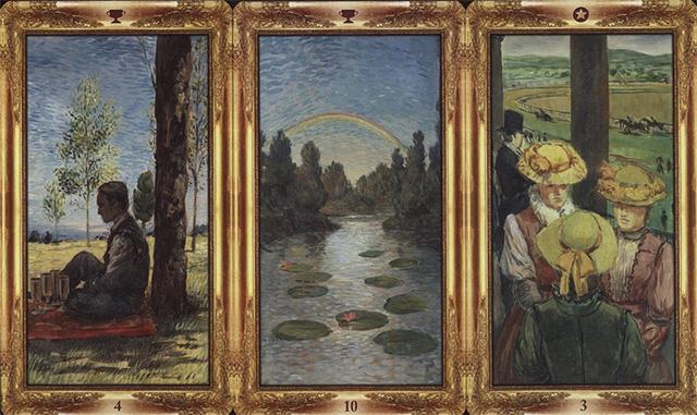 Cảm nhận ý nghĩa 78 lá bài Impressionist Tarot