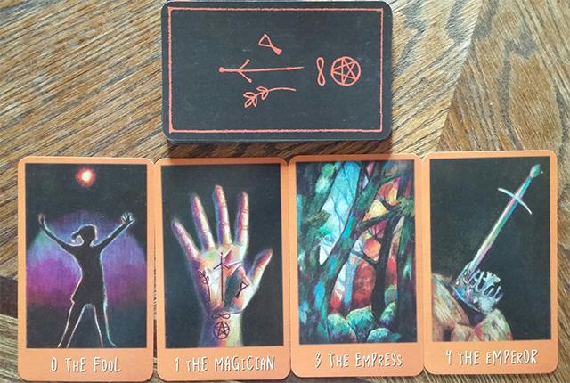 Cảm nhận bộ bài Raven's Prophecy Tarot