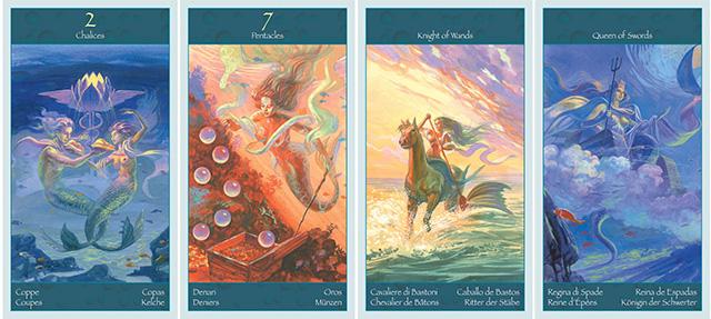 Cảm nhận ý nghĩa 78 lá bài Tarot of Mermaids