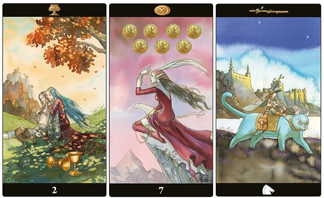 Cảm nhận ý nghĩa bộ bài Tarot of the Dream Enchantress