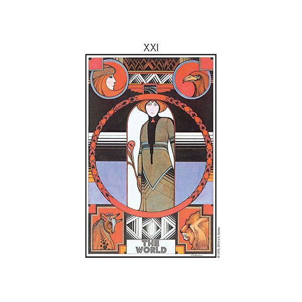 Aquarian Tarot – Tin Edition 4