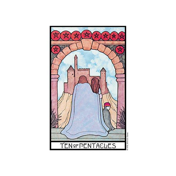 Aquarian Tarot – Tin Edition 7