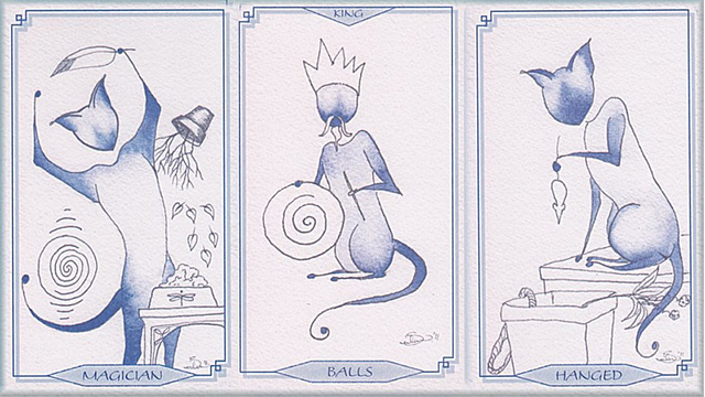 Bleu Cat Tarot 2