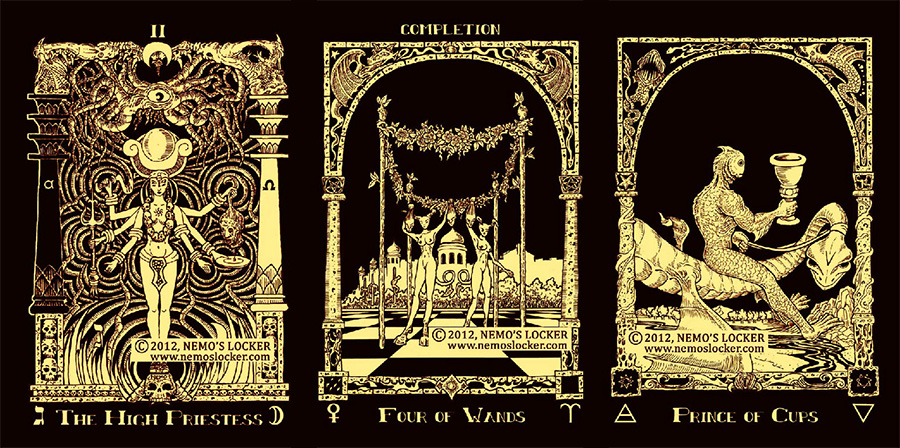 Book of Azathoth Tarot 2