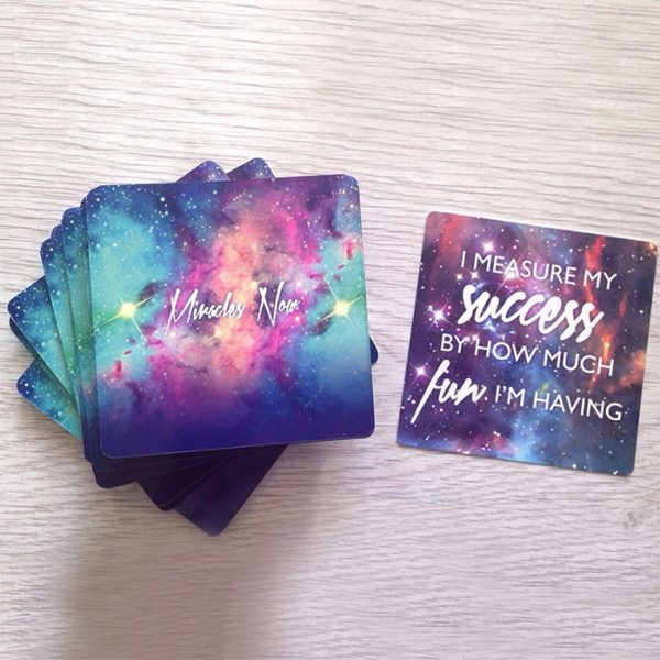 Miracles Now Affirmation Cards 8