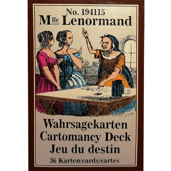 Mlle Lenormand Cartomancy Deck 1