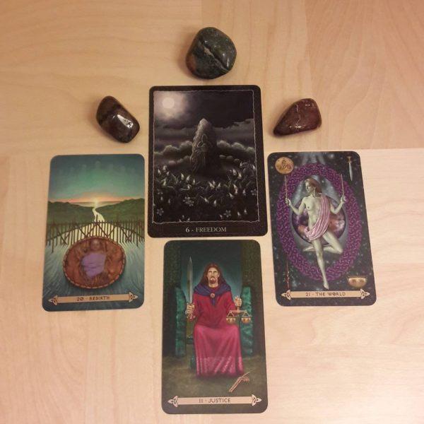 Celtic Tarot (Llewellyn) 5