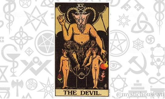 Ý nghĩa lá bài Tarot The Devil