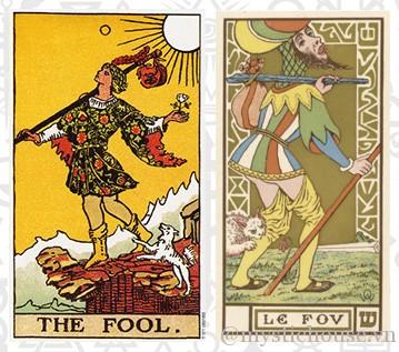 ý nghĩa lá bài The Fool