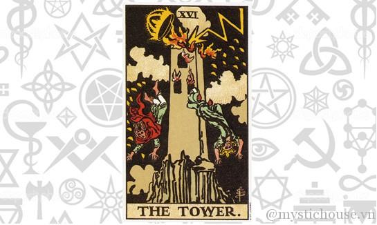 Ý nghĩa lá bài tarot The Tower
