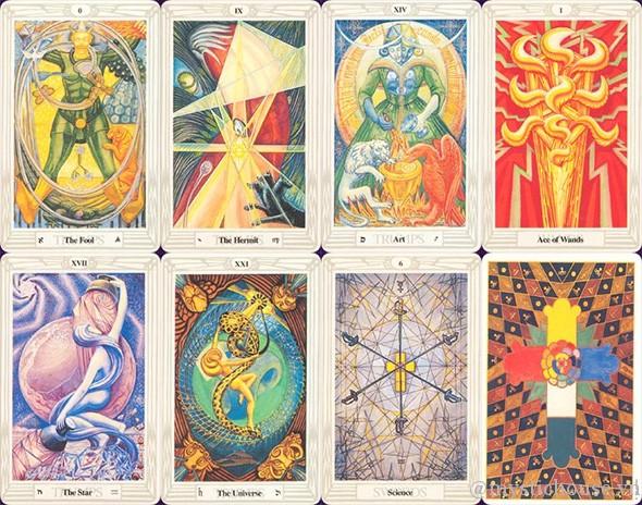 Mua bài Aleister Crowley Thoth Tarot