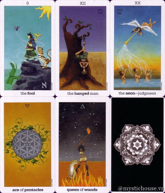 Mua bài Sun and Moon Tarot