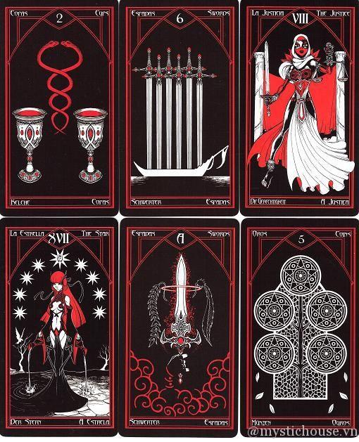 Bộ Tarot này bắt nguồn từ bộ Graphic Novel cùng tên của Tây Ban Nha