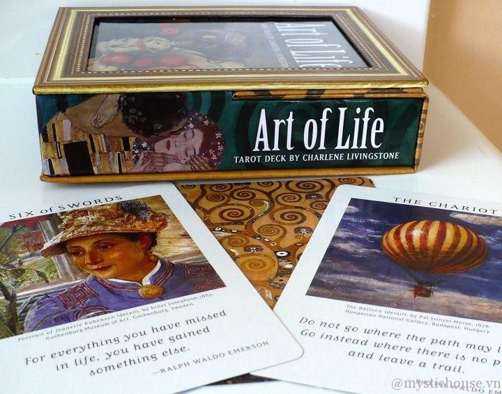 nhận xét Art of Life Tarot