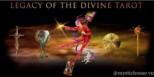 cảm nhận Legacy of the Divine Tarot
