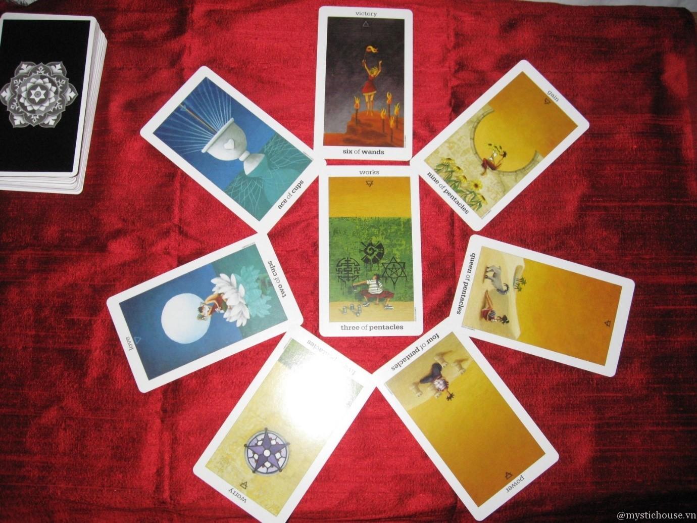 nhận xét sun & moon tarot
