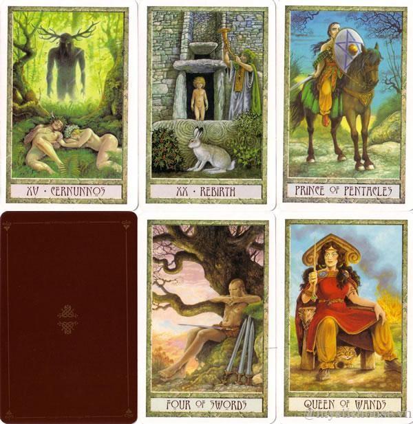 Cách bói bài Druidcraft tarot