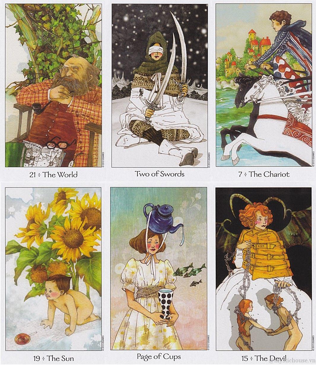 ý nghĩa các là bài Dreaming Way Tarot
