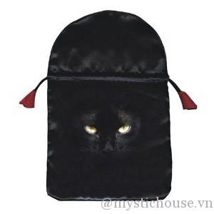 bán túi Black Cat Satin Tarot Bag