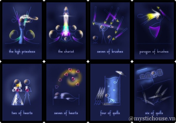 Celestial Stick People Tarot