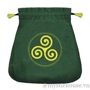 bán túi Celtic Triskel Velvet Bag