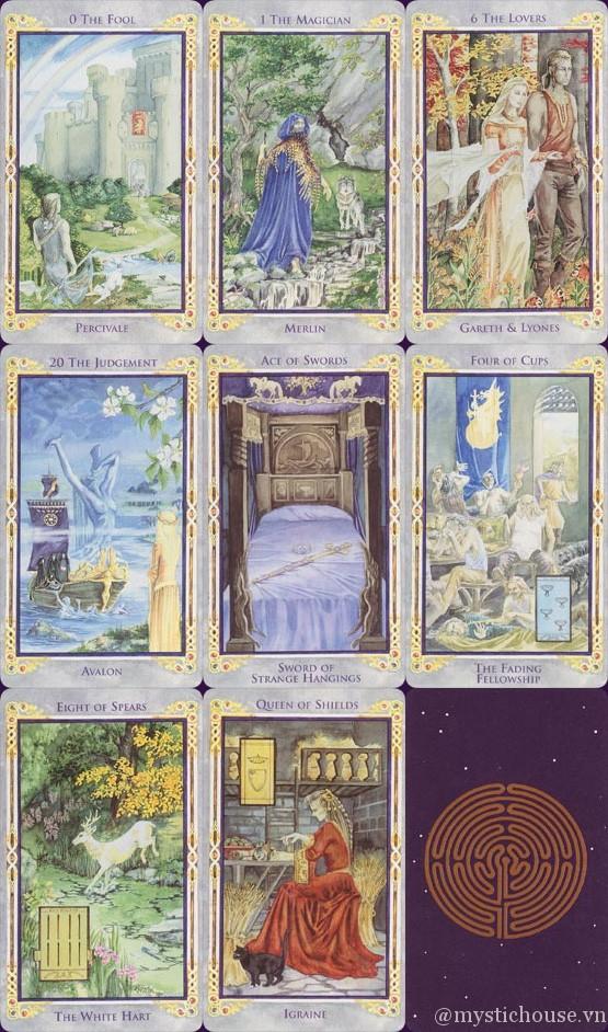 Bán bài Legend: Arthurian Tarot