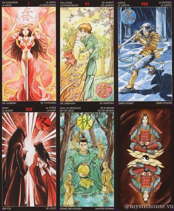 Bán bài Manga Tarot