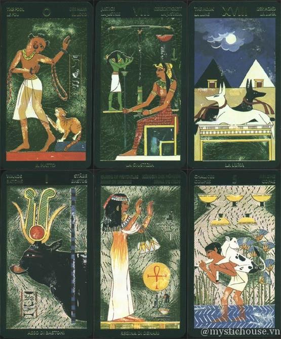 Bán bài Nefertari's Tarot