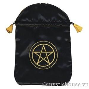 bán túi đựng bài Pentacle Satin Bag