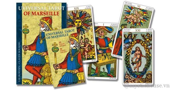 Cảm nhận Universal tarot of Marseille