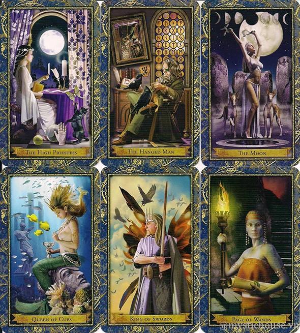 ý nghĩa các lá bài Wizards Tarot