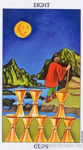 ý nghĩa lá bài tarot eight of cups