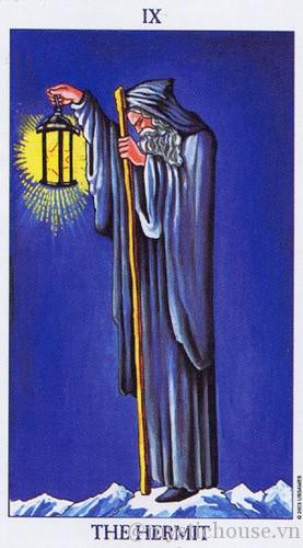 cảm nhận lá bài tarot the hermit