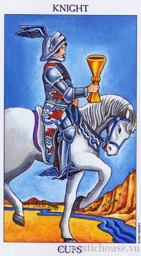 cảm nhận lá bài tarot knight of cups