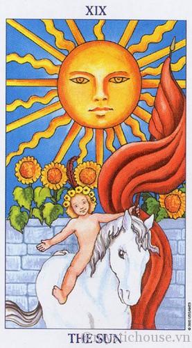 ý nghĩa lá bài tarot the sun