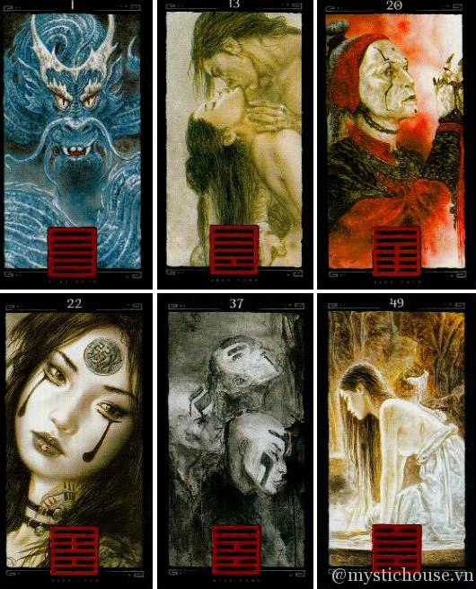 Mua bài I Ching Dead Moon Tarot