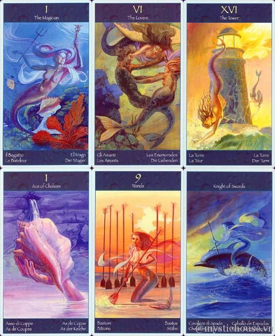 Mua bài Tarot of Mermaids