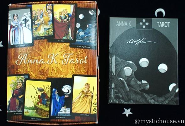 cảm nhận bộ bài Anna K Tarot