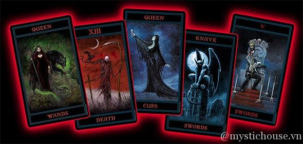 cảm nhận ý nghĩa bộ bài Gothic Tarot
