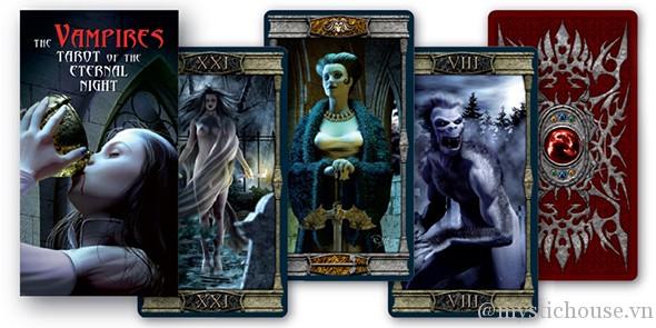 cảm nhận ý nghĩa vampire tarot of the eternal night