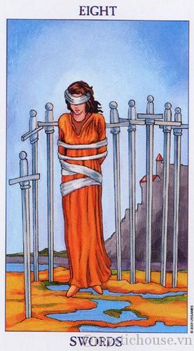 Ý nghĩa của lá bài tarot Eight of Swords